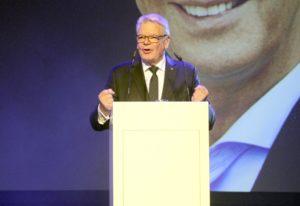 Die Laudatio auf Preisträger Cem Özdemir hielt Bundespräsident a. D. Joachim Gauck. (Foto: © Florian Meurer)