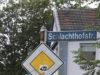 Die Schlachthofstraße wir zum Teil zur Einbahnstraße wegen Bauarbeiten. (Foto: © Bastian Glumm)