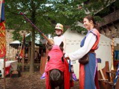 Schloss Burg lädt am Wochenende zum Kinder-Ritterfest ein. Auf kleine Burgfräuleins und Ritter warten zahlreiche spektakuläre Angebote. (Foto: © Kristina Malis / Schloss Burg)