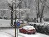 Am Mittwochmorgen hat der Winter der Klingenstadt einen Besuch abgestattet. (Foto: © Bastian Glumm)