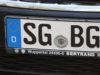 """Am 28. April 1956 wurden die neuen Kfz-Kennzeichen eingeführt, seitdem sind die Solinger mit einem """"SG"""" auf dem Nummernschild unterwegs. (Foto: © Bastian Glumm)"""