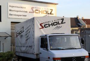 Die Firma Scholz hat ihre Räume an der Kuller Straße. Rund 30 Mitarbeiterinnen und Mirarbeiter sind in dem SHK-Fachunternehmen beschäftigt. (Foto: © Bastian Glumm)