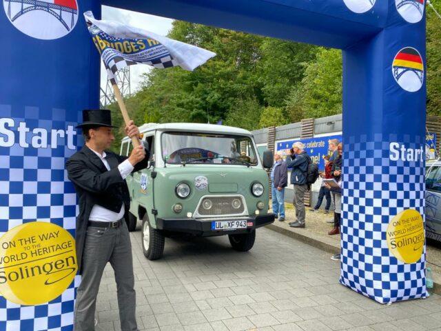 Am Samstag startete die Six Bridges Rallye. Uli Preuss und Jürgen Beu berichten von unterwegs über ihre Erlebnisse auf der Fahrt. (Foto: © Uli Preuss)