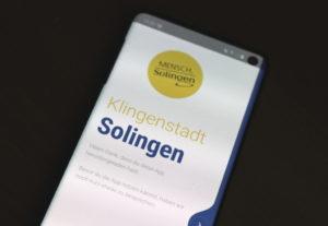 Die Solingen App wurde um neue Funktionen erweitert. (Foto: © Bastian Glumm)