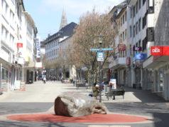 Im Rahmen einer Aktion geht es der Stadt jetzt darum, in der Innenstadt Fassaden zu reinigen, Graffiti und Schmierereien zu beseitigen. (Foto: © Bastian Glumm)