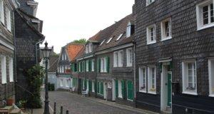 Die Garnisonstraße in Gräfrath. (Foto: © Bastian Glumm)