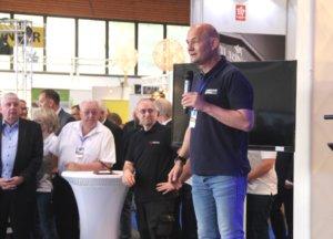 Frank Balkenhol, Geschäftsführer der Wirtschaftsförderung, die die Solingen-Messe veranstaltete, war mit der Leistungsschau sehr zufrieden. (Foto: © Bastian Glumm)