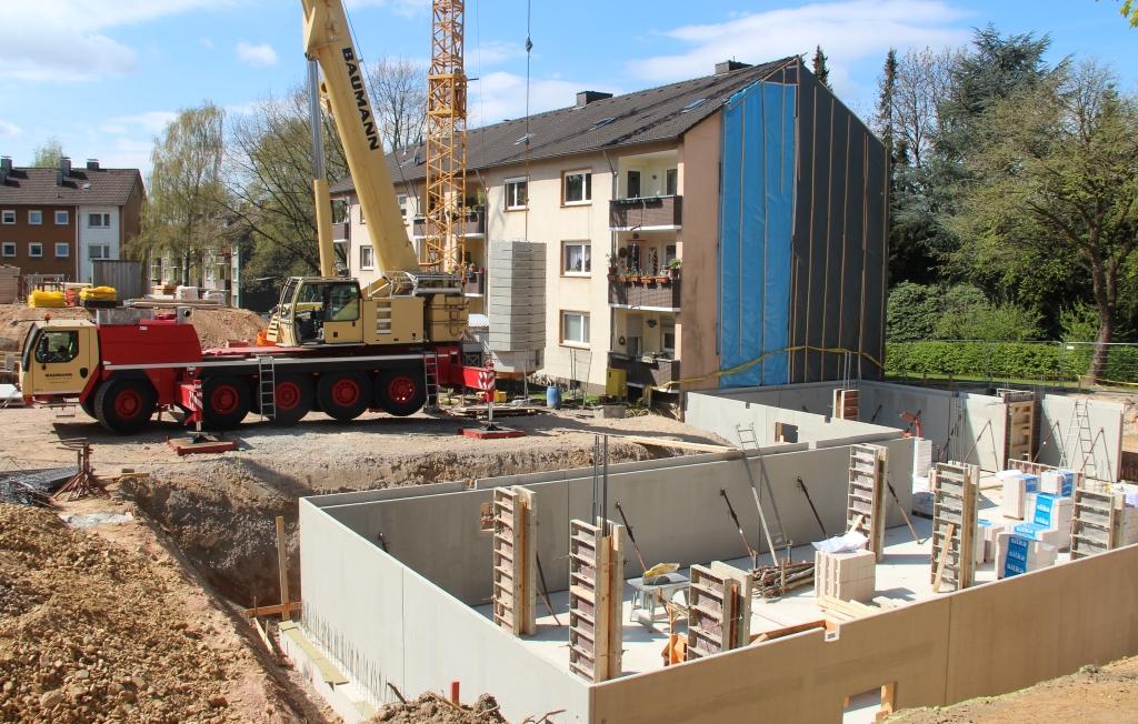 Aktuelle Baustellen Solingen