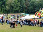 Das Sparkassen-Spielfest findet jedes Jahr auf dem Sportplatz am Weyersberg statt und ist für Kids ein echtes Highlight. (Archivfoto: © Martina Hörle)