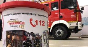 Der Förderverein der Löscheinheit 3 der Freiwilligen Feuerwehr schaffte jetzt mit Unterstützung der Stadtwerke einen Spendentrichter an. (Foto: © Löscheinheit 3/Feuerwehr Solingen)