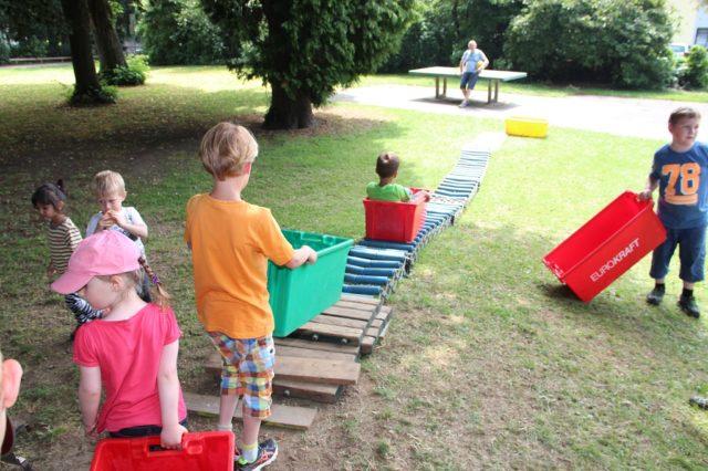 An den Terminen mit Kinderbeteiligung ist jeweils das Spielmobil mit seinen Angeboten zugegen. (Archivfoto: © Bastian Glumm)