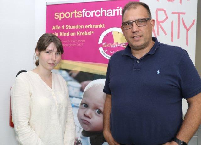Roland Voß und seine Tochter Laura führen im Solinger Coworking Space ihr Unternehmen