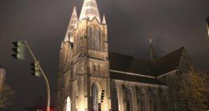 Die katholische Kirche St. Clemens in der Solinger Innenstadt. (Archivfoto: © Bastian Glumm)