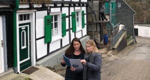 Das neue Stadtteilmanagement hat bereits viele Gespräche mit Akteuren in Burg geführt, um gemeinsam Ideen für eine Verbesserung der Arbeits-, Wohn- und Lebenssituation in Burg zu entwickeln. (Foto: © Stadt Solingen)