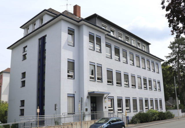 Das Verwaltungsgebäude der Stadt Solingen an der Gasstraße. (Foto: © Bastian Glumm)