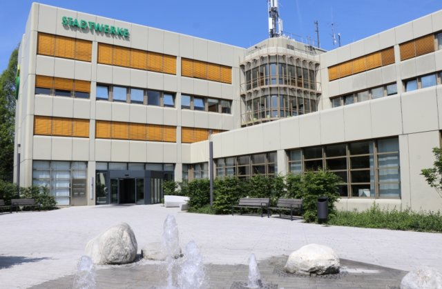 Die Stadtwerke Solingen (SWS) haben ihren Sitz an der Beethovenstraße. (Foto: © Bastian Glumm)