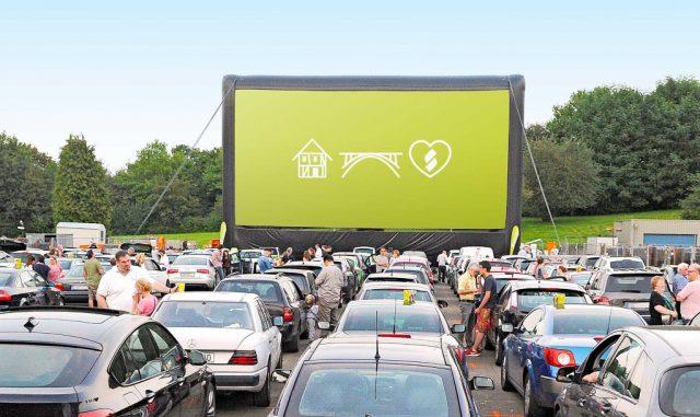 Vom 24. bis zum 26. August geht auch in diesem Jahr wieder das Stadtwerke-Autokino an den Start. Gezeigt werden drei Blockbuster. (Foto: © Stadtwerke Solingen)