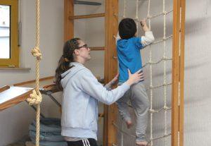 In den Einrichtungen des Kinder-Therapie-Zentrums in Solingen werden Kids mit Behinderung betreut und gezielt gefördert. (Foto: © Bastian Glumm)