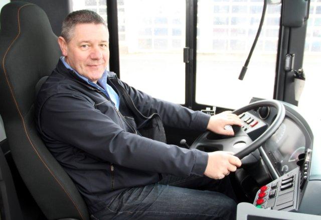 Thomas Schulz, SWS-Fahrleiter und Ausbilder, schwärmt von den neuen