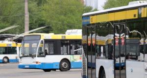 Der Betriebshof des Verkehrsbetriebs der Stadtwerke Solingen befindet sich an der Weidenstraße. (Archivfoto: © Bastian Glumm)