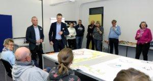 Zahlreiche Gedanken sprudelten aus den insgesamt rund 60 Besucherinnen und Besuchern der beiden Kreativ-Workshops im Gründer- und Technologiezentrum zum Thema Stöcken 17. (Foto: © Bastian Glumm)