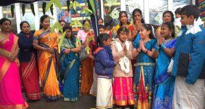 Die rund 75 Kinder und Jugendliche der Tamilischen Gemeinde gehen auch sonntags zur Schule und lernen die tamilische Kultur und Sprache kennen. Das tun sie ab sofort in den Räumen des Technischen Berufskollegs. (Foto: Nanthakumar Kumarasamy)