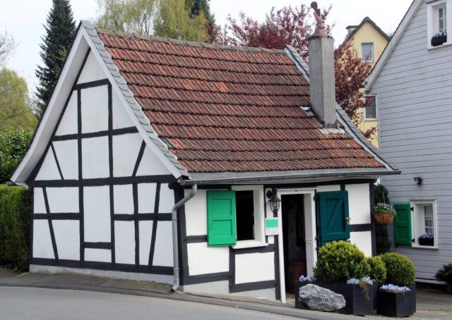 Die Reiderei Lauterjung an der Schaberger Straße ist ein gut erhaltenes Stück Solinger Industriegeschichte. (Foto: © Bastian Glumm)
