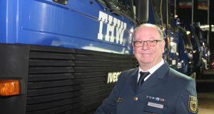 Roland Holz ist neuer Ortsbeauftragter des Technischen Hilfswerks (THW) in Solingen. (Foto: © Bastian Glumm)