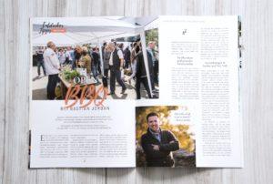 Pünktlich zur Messe erscheint die erste Ausgabe eines 28-seitigen, touristisch ausgerichteten Magazins, das nun alle sechs Monate herauskommen soll. (Foto: © AWEOS)