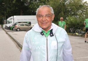 """Der ehemalige Fußballprofi und Meistertrainer Felix Magath war am Wochenende ebenfalls Teilnehmer der """"Tour der Hoffnung"""". (Foto: © Bastian Glumm)"""