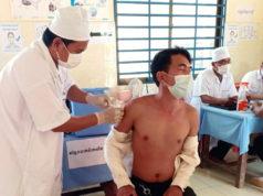Am Osterwochenende wurde das Impfzentrum für die Provinz Prey Veng in Kambodscha im Solingen-House II eröffnet. (Foto: ©Kim Heng Chau)