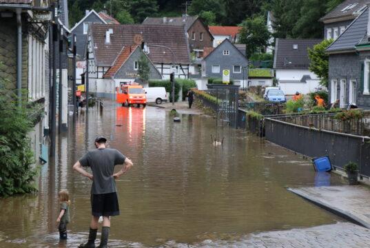Die Hochwasser-Katastrophe Mitte Juli traf auch Teile Solingens mit voller Wucht und sorgte für Verwüstungen. (Foto: © Bastian Glumm)