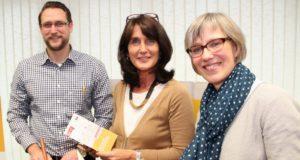 Florian Bublies, Johanne Voß (mi.) und Julia Ogiermann vom Team der Solinger Verbraucherzentrale. (Archivfoto: © Bastian Glumm)