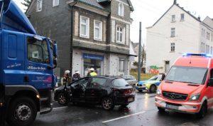 An den Fahrzeugen entstand Sachschaden in Höhe von circa 7.500 Euro, so die Polizei. (Foto: © Tim Oelbermann)