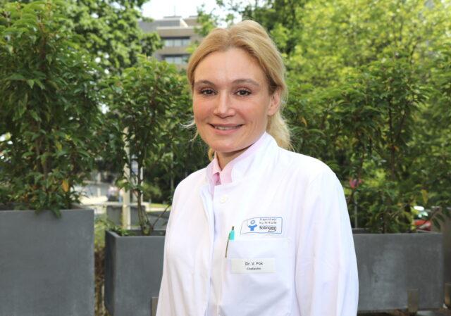 Dr. Viola Fox ist neue Chefärztin im Zentrum für Hämatologie und Onkologie im Klinikum Solingen. (Foto: © Bastian Glumm)