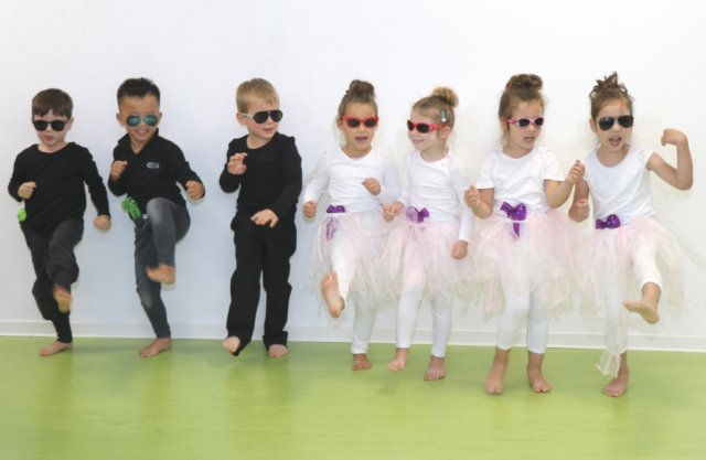 Sehr cool: Die Kids der Kita