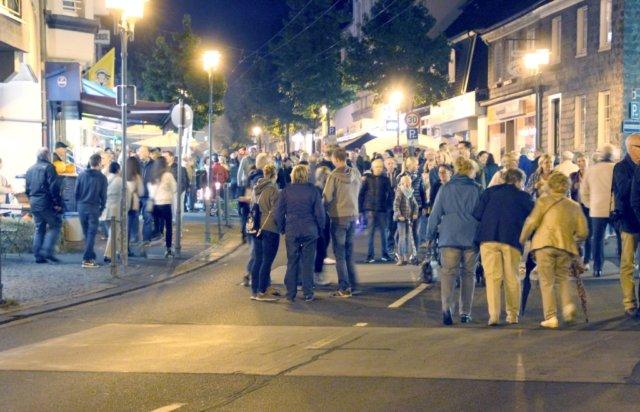Anlässlich der Walder Theatertage wird die Friedrich-Ebert-Straße am kommenden Freitagnachmittag gesperrt werden. (Archivfoto: © Bastian Glumm)
