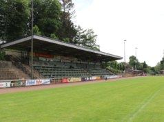 Das Walder Stadion wird weiter modernisiert. Dafür setzt sich seit 24 Jahren der Förderkreis Jahnkampfbahn um Guido Rohn ein. (Foto: © Bastian Glumm)