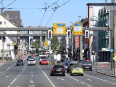 Die Kreuzung Werwolf in der Solinger Innenstadt. (Foto: © Bastian Glumm)