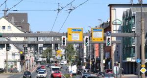 Die Kreuzung Werwolf in der Solinger Innenstadt. (Archivfoto: © Bastian Glumm)