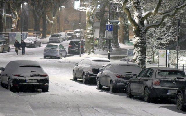 Auf den Straßen der Klingenstadt kam es zwischen gestern, 15 Uhr, und heute Morgen, 5 Uhr, zu insgesamt 28 glättebdingten Verkehrsunfällen. (Foto: © Bastian Glumm)