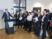 Im Gründer- und Technologiezentrum wurde am Dienstag feierlich das International Business Center Solingen (IBCS) eröffnet. (Foto: © Bastian Glumm)