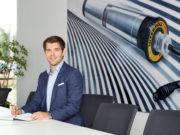 Die Wirtschaftsjunioren wählten am Montag Benjamin Dietrich zum neuen Vorstandsvorsitzenden und Kreissprecher 2021. (Foto: © Interroll Holding GmbH)