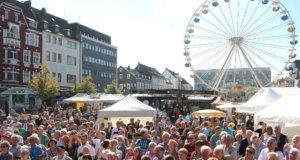 Der 50. Zöppkesmarkt findet in diesem Jahr vom 7. bis zum 9. September statt. Die Eröffnung findet am Freitag um 15 Uhr auf dem Mühlenhof statt. (Archivfoto: © Bastian Glumm)